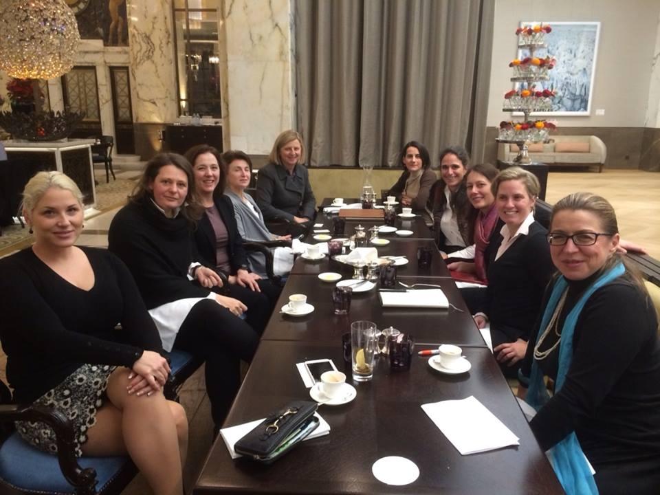 Investorinnen Lunch High Caliber am 19.1.2015